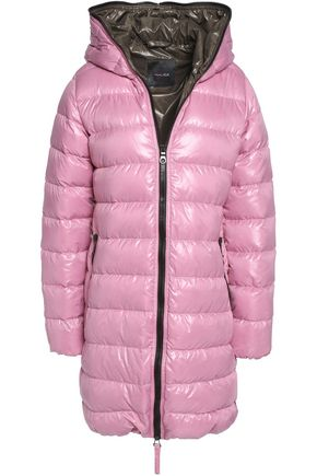 DUVETICA Ace quilted shell hooded down coat