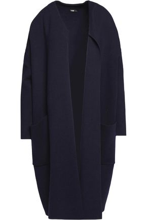 MAJE Stretch-knit coat