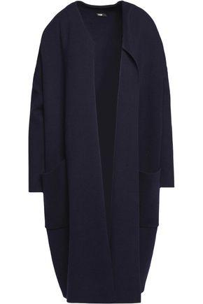 MAJE Stretch-knit coat