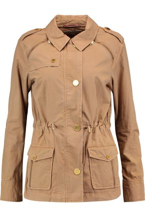 MICHAEL MICHAEL KORS Cotton-gabardine coat