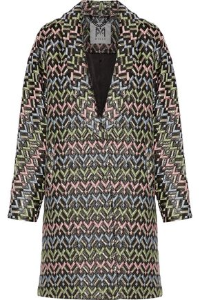 MILLY Lola brocade coat
