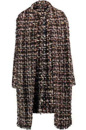 DOLCE & GABBANA Bouclé-tweed coat
