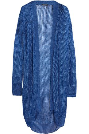 BALMAIN Metallic knitted cardigan