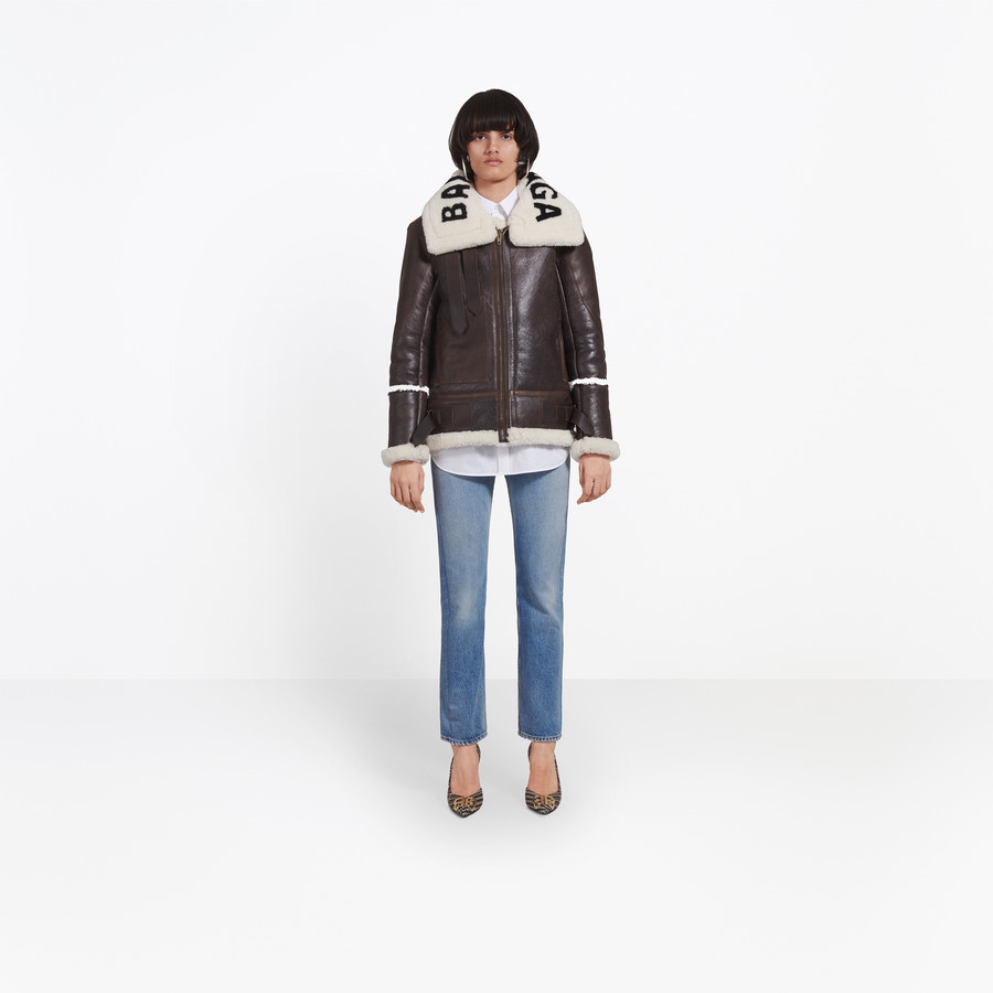BALENCIAGA The Bombardier Coats Woman g