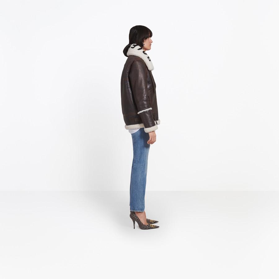 BALENCIAGA The Bombardier Coats Woman i