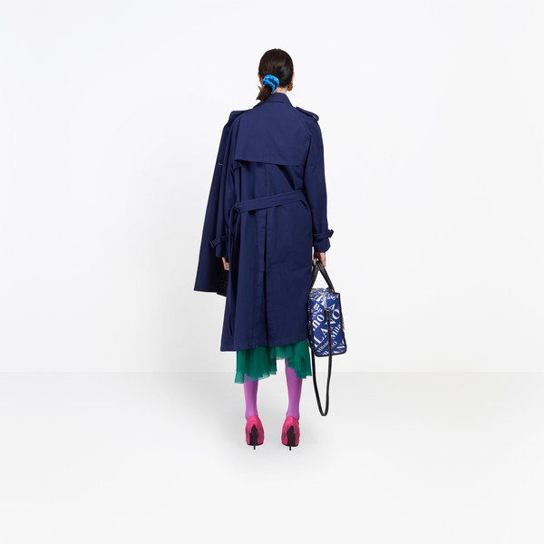 BALENCIAGA Coats Woman Pulled Trench h