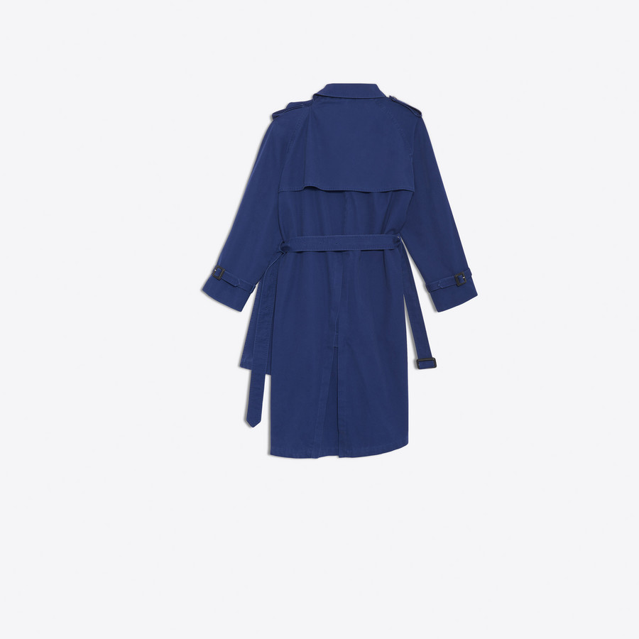 BALENCIAGA Pulled Trench Coats Woman d