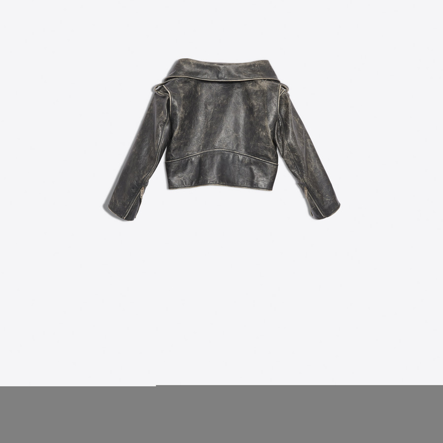 BALENCIAGA Vintage Swing Biker Jacket Jacket Woman d