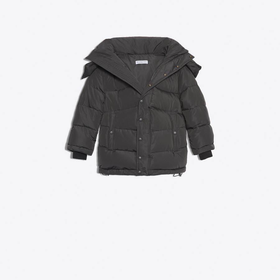 BALENCIAGA New Swing Puffer Jacket Coats Woman f