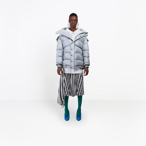 BALENCIAGA Coats D New Swing Puffer Jacket g
