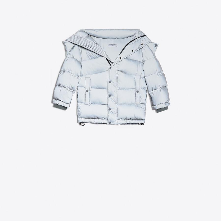 BALENCIAGA New Swing Puffer Jacket Coats D f