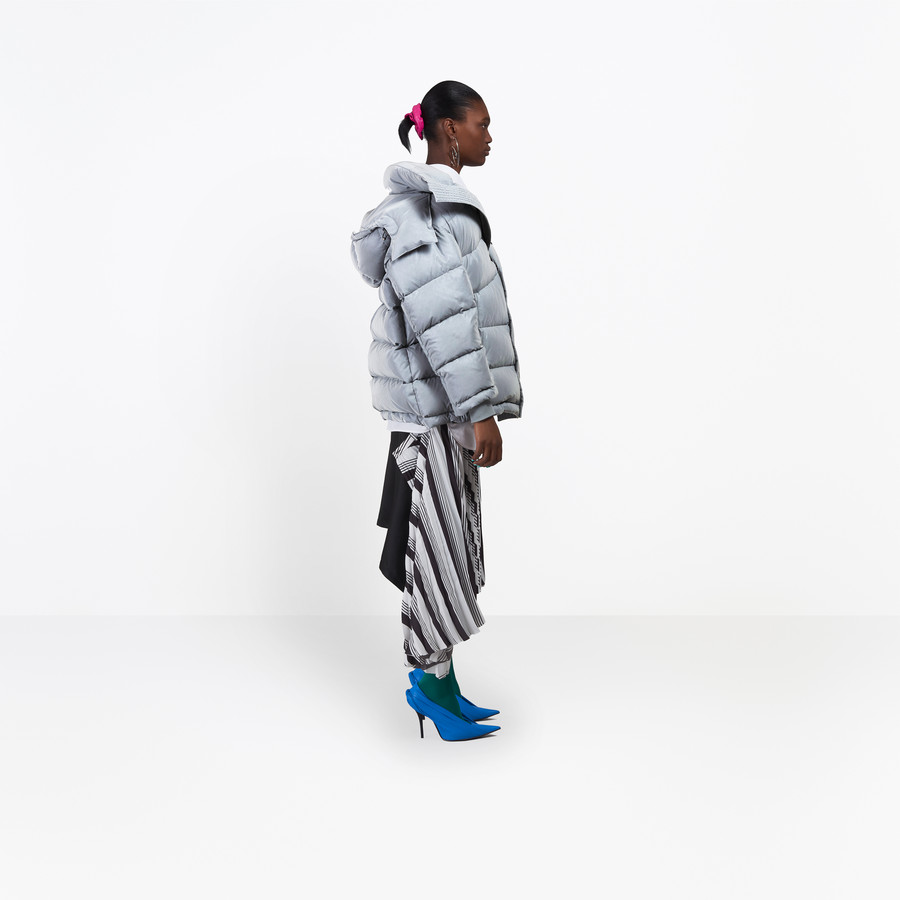 BALENCIAGA New Swing Puffer Jacket Coats D i