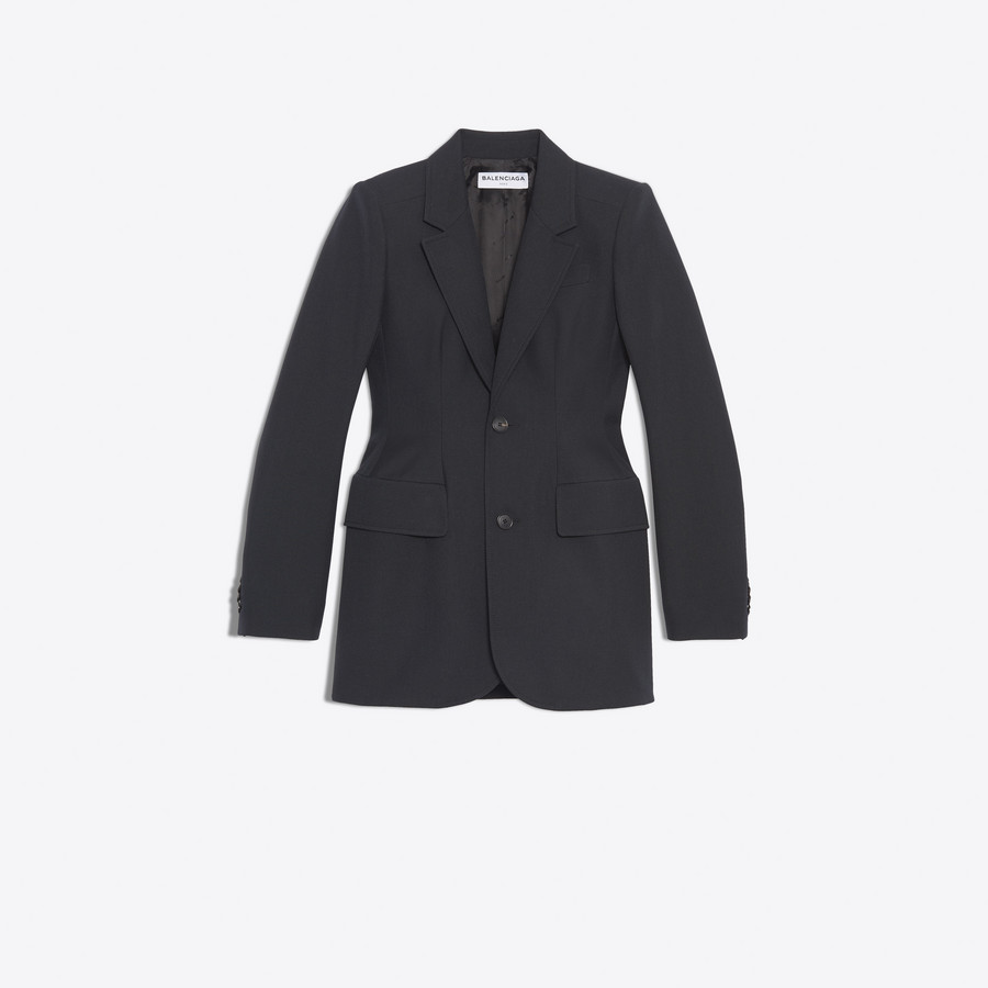 BALENCIAGA Hourglass Jacket Jacket Woman f