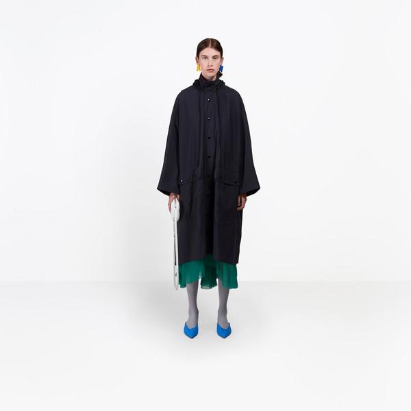 BALENCIAGA Coats D Opera Rain Coat g