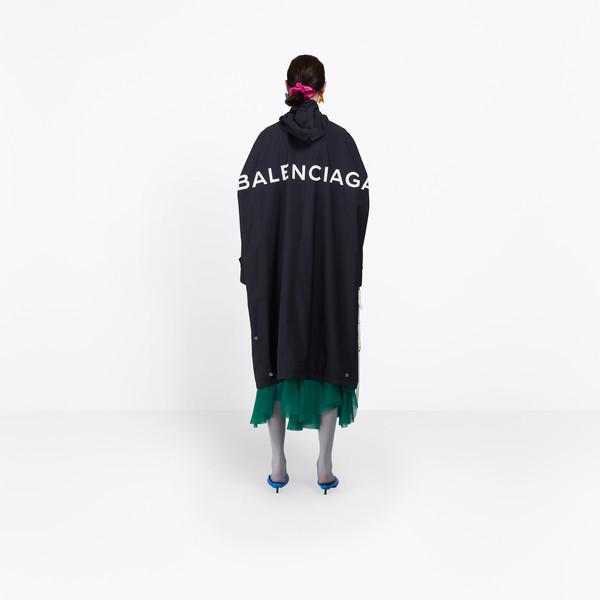 BALENCIAGA Coats D Opera Rain Coat h