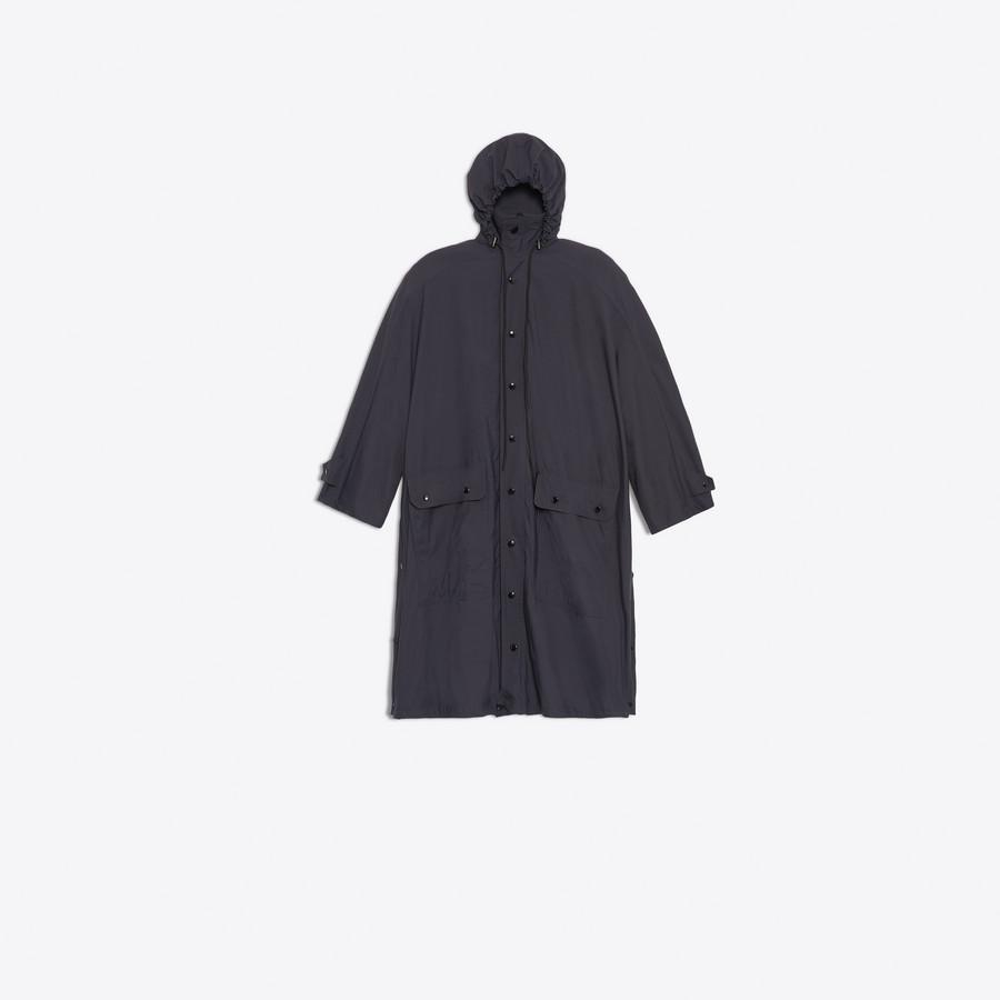 BALENCIAGA Opera Rain Coat Coats D f