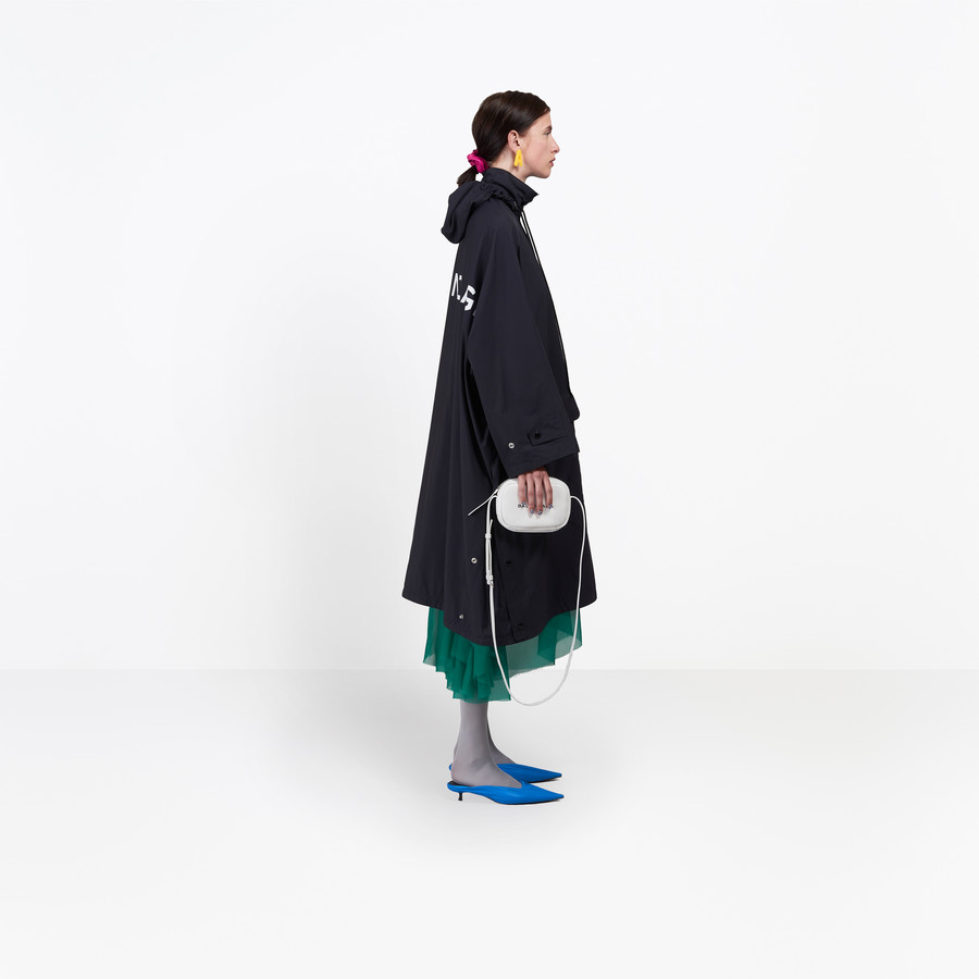 BALENCIAGA Opera Rain Coat Coats D i