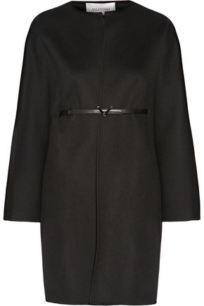 VALENTINO Wool and cashmere-blend coat