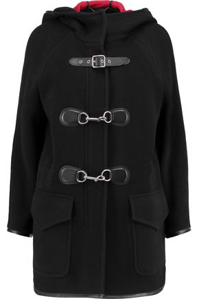 COACH Hooded wool-blend coat