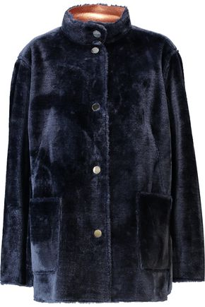 OPENING CEREMONY Culver reversible faux fur coat
