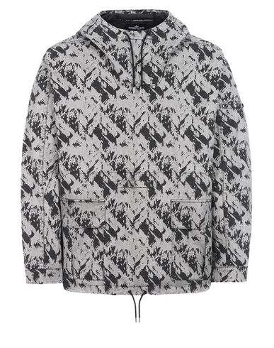 40101 DROP POCKET ANORAK (DISCHARGE COTTON)