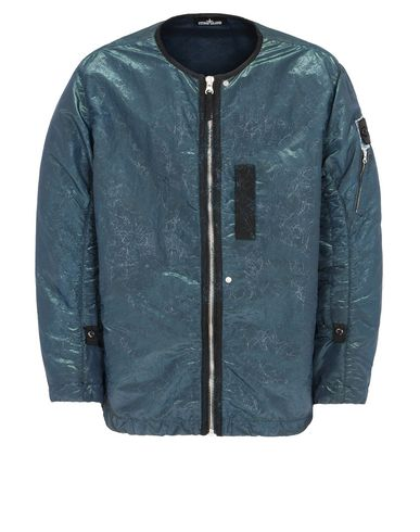 40305 DROP POCKET BOMBER JACKET MIT ARTICULATION CHANNELS (NYLON METAL ʹSPIDER')