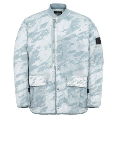 40503 PADDED BOMBER JACKET WITH DROP POCKET AND ARTICULATION CHANNELS (LUCID FLOCK)