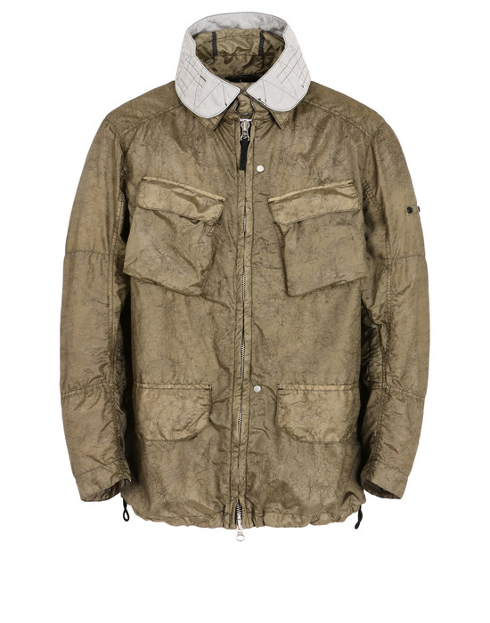 "Куртка 41004 FIELD JACKET WITH ARTICULATION TUNNELS (NYLON METAL ""SPIDER"" WATRO) STONE ISLAND SHADOW PROJECT - 0"