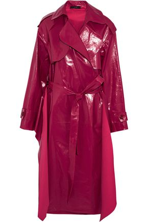 ELLERY Belted coated cotton trench coat