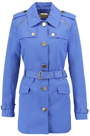 MICHAEL MICHAEL KORS Belted cotton-blend coat