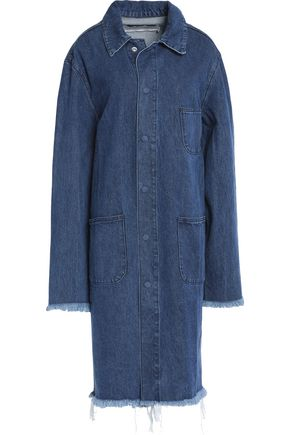 MARQUES ' ALMEIDA Frayed denim jacket