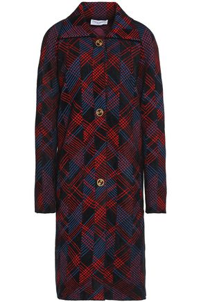 SONIA RYKIEL Checked bouclé coat