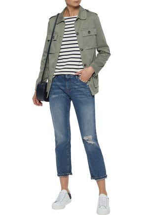 IRIS & INK Cotton-blend twill jacket
