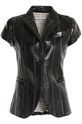 SONIA RYKIEL Coated cotton-blend jacket
