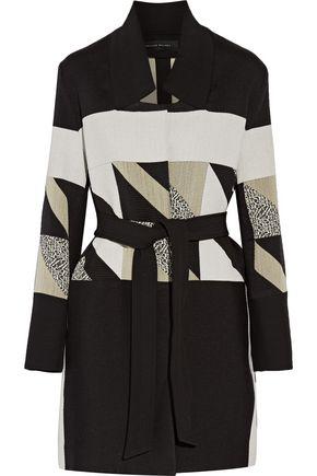 ROLAND MOURET Marah woven coat