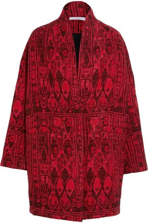 IRO Oversized jacquard coat