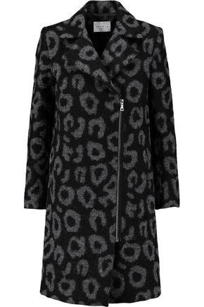 SANDRO Miline felted-bouclé coat