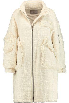 GOEN.J Bouclé-tweed coat