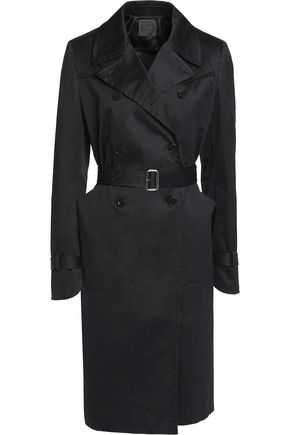 AGNONA Cotton-blend trench coat