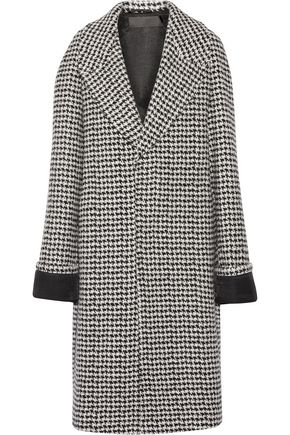 HAIDER ACKERMANN Houndstooth wool-blend coat