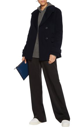 VINCE. Wool and cashmere-blend coat
