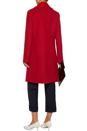 ... LOVE MOSCHINO Coated twill coat ...