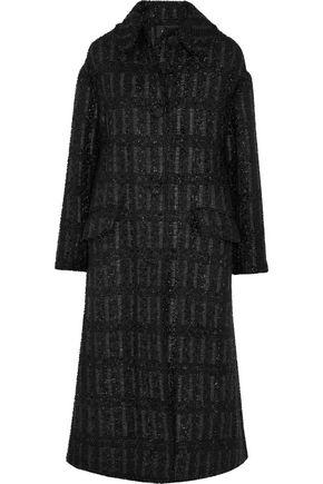 SIMONE ROCHA Metallic bouclé coat