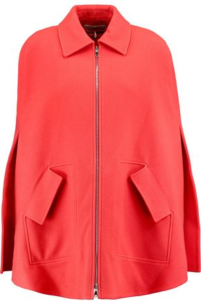 EMILIO PUCCI Brushed wool and cashmere-blend cape