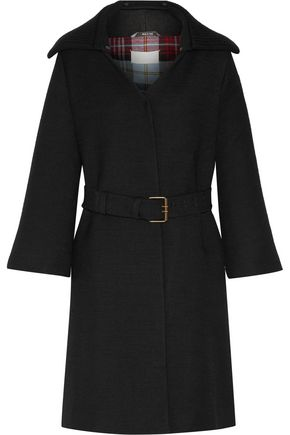 MAISON MARGIELA Belted wool-twill coat