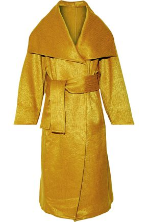 MAISON MARGIELA Iridescent wool-blend coat