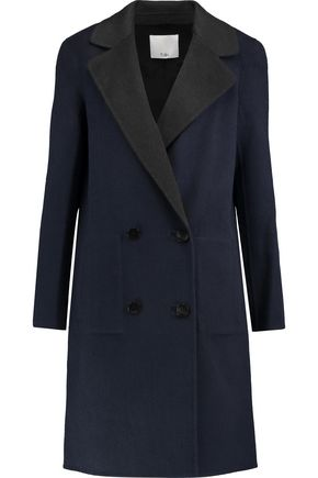 TIBI Brushed wool coat
