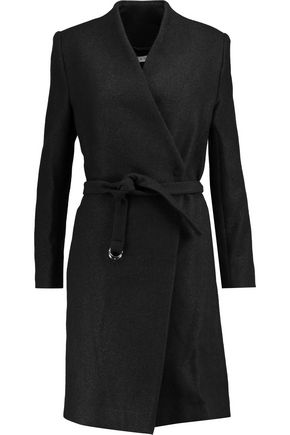 IRO Wrap-effect wool-blend coat