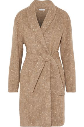 IRO Valie belted bouclé coat