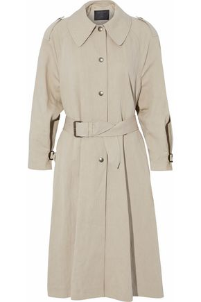 BELSTAFF Cotton-blend canvas coat